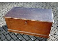 Beautiful Condition Mid to late Victorian Antique Kist dated 1896 (pbms)