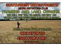 Farmers and land owners do you want to earn 500 pounds for doing nothing