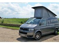 VW T5 Campervan for hire Norfolk