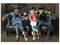 3 Standing Tickets for Gorillaz @ SSE Hydro, Glasgow (29th Nov)