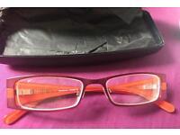 Red or Dead glasses/frames