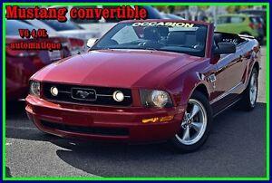 2008 Ford Mustang V6 convertible