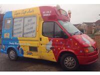 Ice Cream Van - Ford transit with Carpigiani Machine