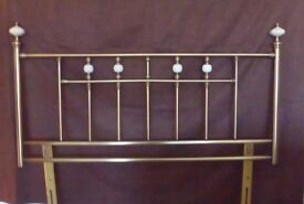 Headboard Kingsize [5ft] 70cmx150cm Antique gold style in good condition