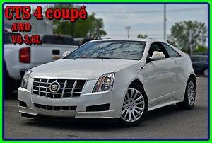 2013 Cadillac CTS coupé AWD