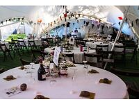 Wedding white round tablecloths 90 inch x 10 for sale