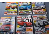 large colection of Auto Express magazines (over 300 issues)