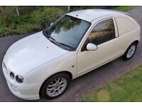Unique MG Express Van. MG ZR Limited Production. The Only White MG Van Built.