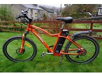 2015 Used Freego Martin Sport electric bike 100ah battery up to 100 mile range