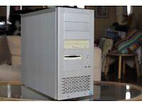 LIAN LI PC-7 Aluminium Desktop PC Computer Case, Power Supply, Fan & DVD Writer