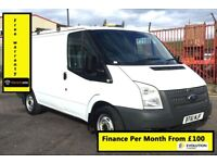 Ford Transit 280 2.2 , Six Speed ,100 BHP Horse Power, One Owner, Service History, 1YR MOT, Warranty