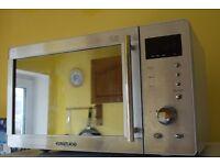 deawoo microwave 800 watt mirror door . used good condition