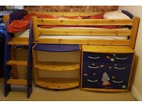 Scallywag Cabin Bed with furniture