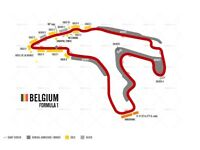 Belgium Grand Prix tickets & Hotel - 2x 3 day tickets Gold 4 – Eau Rouge + 4 night hotel (B&B)