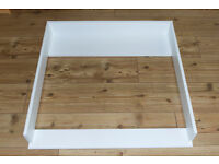 Changing Table Top, Cot Top, Attachment for Ikea Hemnes Drawer (without dresser)