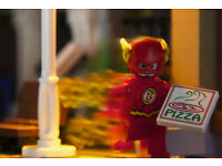 Delivering your advertising… and a pizza