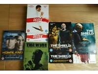 Collection of DVD box sets