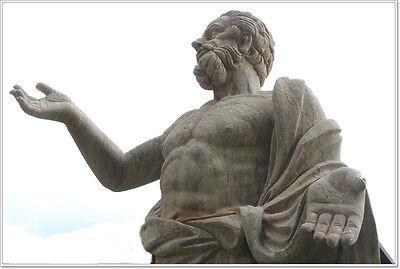Stoiker stoischer Weiser Philosoph Stoa  Monument H 265 cm