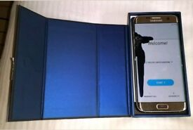Samsung s7 edge cracked damaged screen