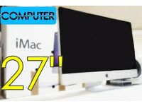 MAC Apple iMac 27 inch SLEEK DESIGNER COMPUTER MOVIES SURF 1TB HD DESKTOP ALL IN ONE COMPUTER FAST