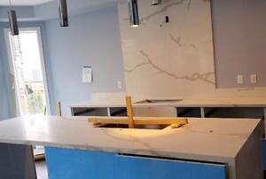 Marble, Granite, Quartz counter top, bar top, vanities top (FREE SINK) ONSALE