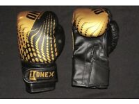 OneX Boxing Gloves - Kids Junior Adjustable Training Kick Boxing Muay Thai 4oz