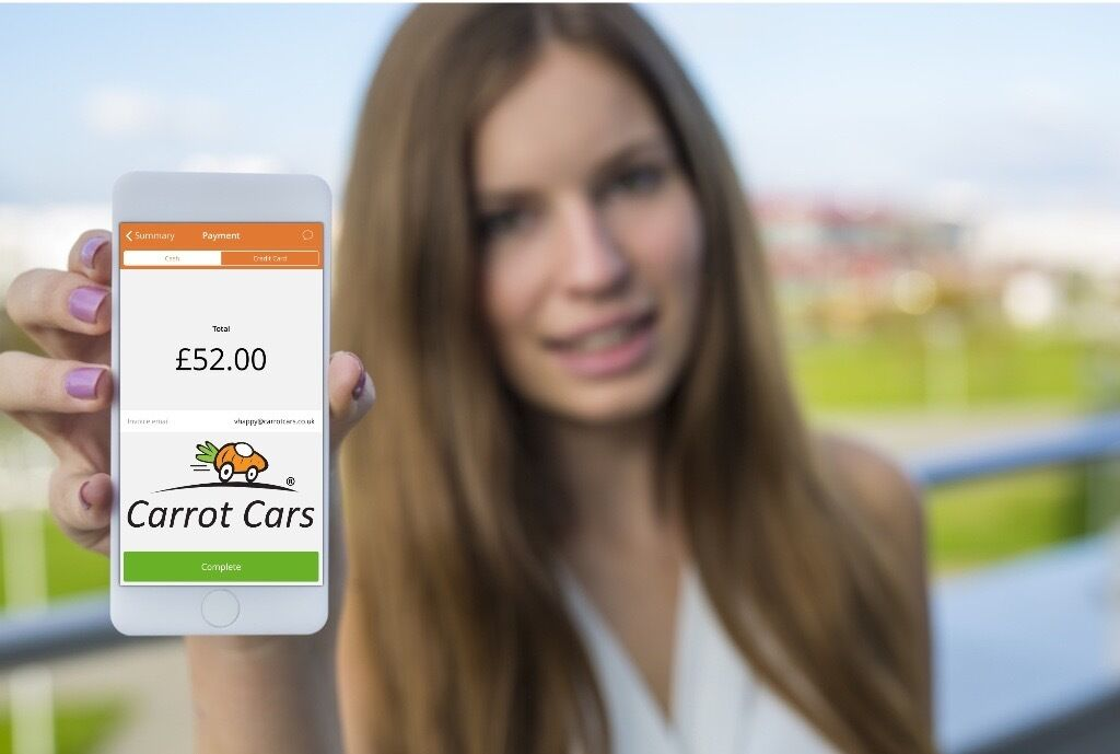 PCO, Minicab, Chauffeur, Owner Drivers - First month free! 97% of our drivers love Carrot Cars