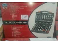 111 pcs socket set