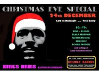 SUNDAY 24th DECEMBER - 60s 70s SOUL / REGGAE / MOTOWN with DOUBLE BARREL – EASTON IN GORDANO