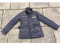 Size 10 Black ladies jacket with belt
