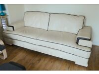 Sofa 3-seater in Leather