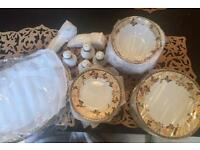FINE CHINA BUTTERFLY TABLEWARE SET