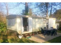 Peak Season Caravan Holiday Let Brittany France.Dogs Welcome 2 Bedrooms, 2 miles to Beaches 3 Pools