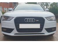 Audi A4 with S4 Bodykit Conversion
