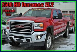 2015 GMC SIERRA 2500HD SLT DURAMAX / ALLISON