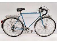 vintage peugeot randoneur racing touring bicycle