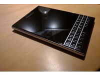 Blackberry Passport Unlocked 32GB. Perfect condition as new. Android apps.