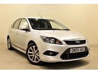 FORD FOCUS 1.6 ZETEC S S/S 5d 113 BHP + 2 PREV OWNER + SERVICE HISTORY (silver) 2009