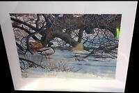 "Ducks Unlimited Print ""Redoux"" by Pierre Girard"