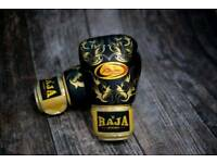 Brand new, never worn Raja Boxing Muay Thai Boxing Gloves 16Oz