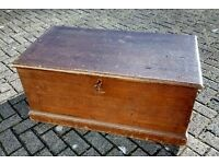 Stunning Condition Mid to late Victorian Antique Kist dated 1896