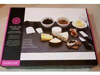 9 piece slate cheese board set