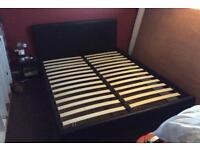 King Bed - frame & mattress