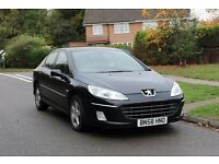 2008 PEUGEOT 407 1.6 HDI DIESEL 67K LOW MILES! FSH! CAMBELT DONE! FRESH SERVICE! 2 OWNERS! 206 307