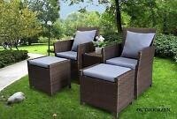 Gorgeous Patio /Garden Furniture Wicker Set - MUST SEE!!!!