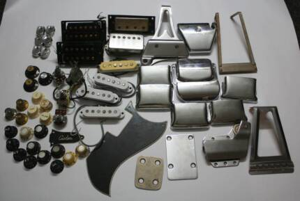 Vintage guitar parts Fender, Gibson, Greco, Teisco, Kent and more
