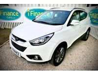 CAN'T GET CREDIT? CALL US! Hyundai ix35 1.7 CRDi SE, 2014, Manual - £200 DEPOSIT, £65 PER WEEK