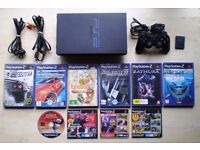 PLAYSTATION 2 Console with Games & Accessories