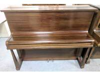 Beautiful Mahogany 'Challen' Upright Console Piano - CAN DELIVER