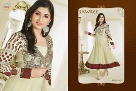 Asian dresses pure georgette and cotton best reasonable price